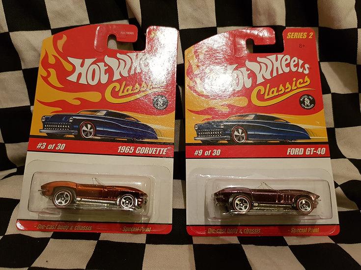 Hot Wheels Classics s2 1965 Corvette   Orange or Rose