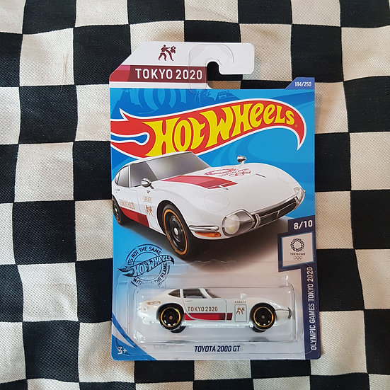 Hot Wheels 2020 Tokyo Olympic Games 10 Toyota 2000 GT  White