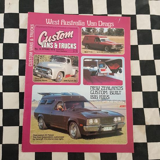 Custom Vans & Trucks Magazine #13