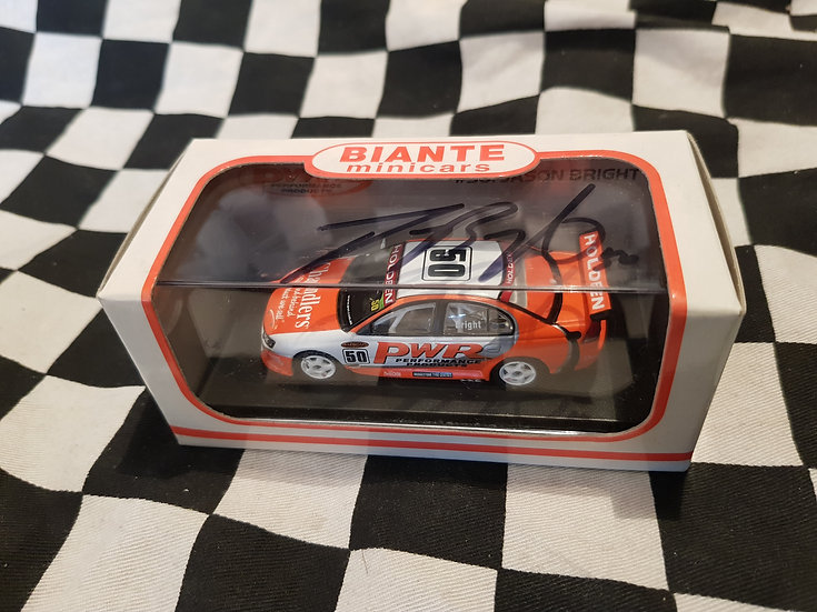 Biante 1:64 SIGNED! #50 Jason Bright PWR VY Commodore