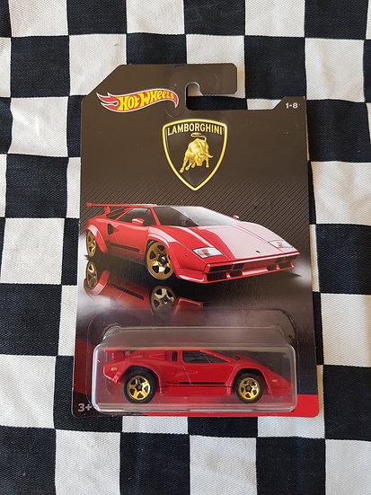 Hot Wheels Lamborghini Countach RED