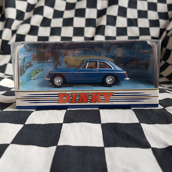 Dinky 1:43 By Matchbox Boxed 1965 MGB GT Blue