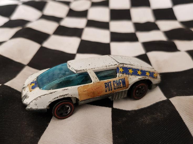 Rare 1971 Hot Wheels Redline Pit Crew Car loose