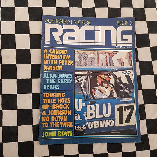 Australian Motor Racing #3 1981 Dick Johnson