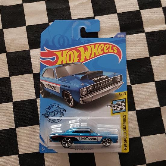 Hot Wheels 2020 Speed Graphics 69 Dodge Dart Blue Mopar