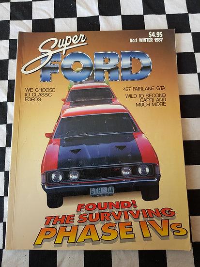 SUPER FORD #1 magazine