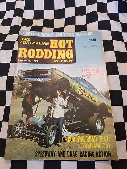 Australian Hot Rodding Review December 1970