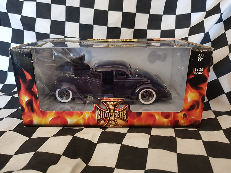 VHTF West Coast Choppers 36 Ford Coupe Dark Purple
