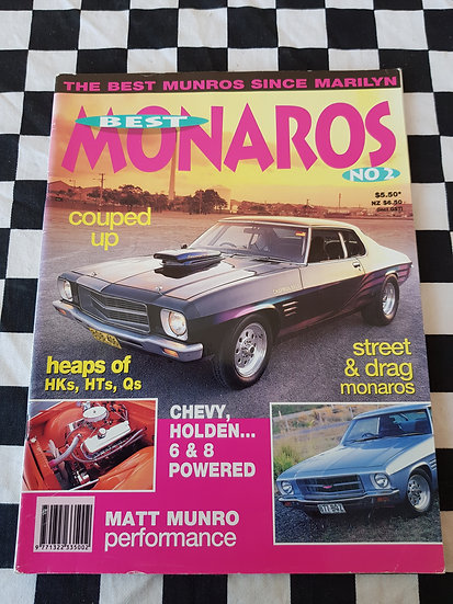 BEST MONAROS #2 magazine