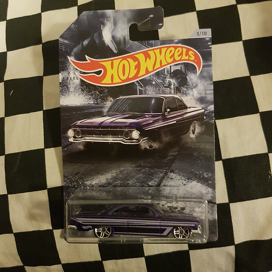 Hot Wheels 2020 American Steel 61 Impala Purple