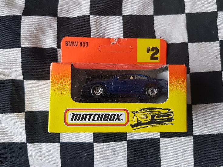 Matchbox Boxed 1996 #2 BMW 850