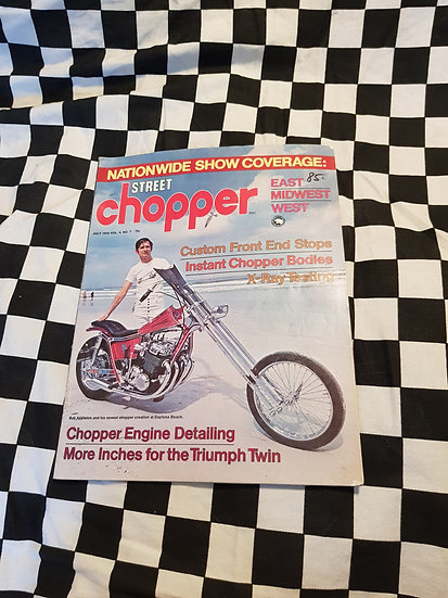 Street Chopper magazine July 1972