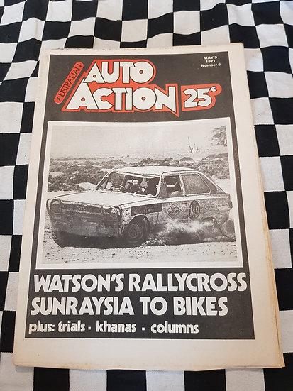 Australian Auto Action Magazine #6 May 5 1971