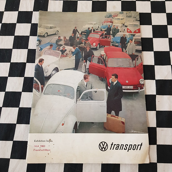 Vw Transport 1963 Exhibition Issue Kombi