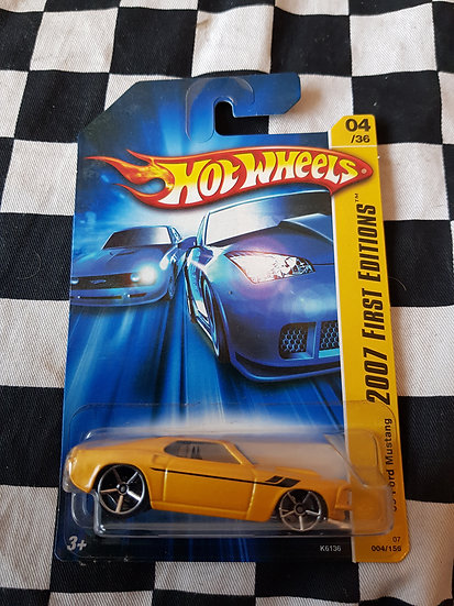 Hot Wheels 2007 First Editions Yellow 1969 Mustang