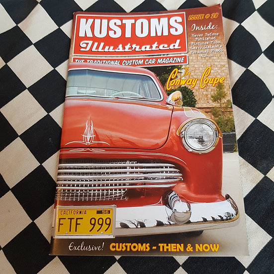 Kustoms Illustrated #28 Traditional Custom Car Magazine