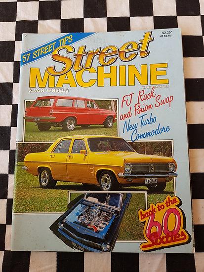 STREET MACHINE & VAN WHEELS issue #4 april may 82