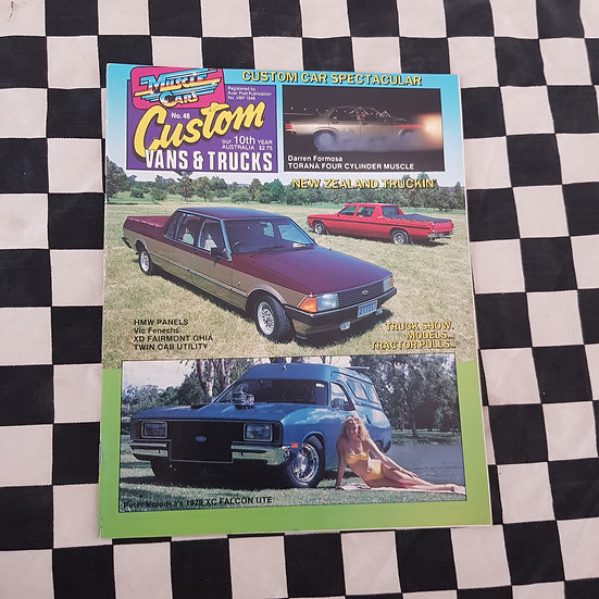 Custom Vans & Trucks Magazine #46 (XD Dual Cab Cover)