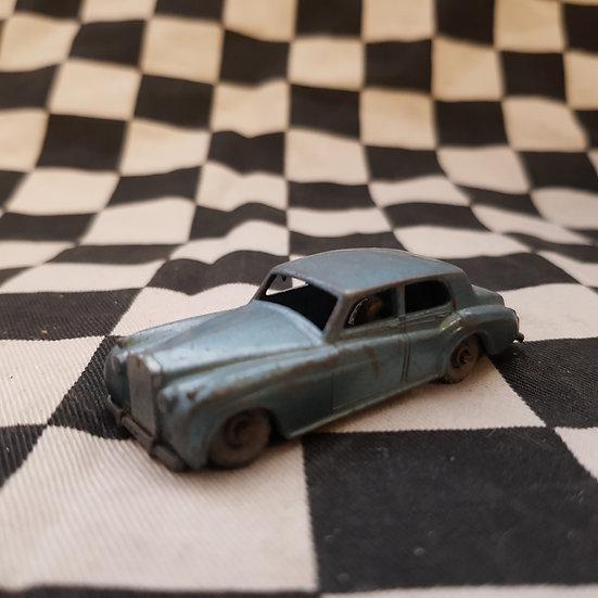 Vintage Lesney Matchbox No44 Rolls Royce Silver Cloud Blue Grey Wheels