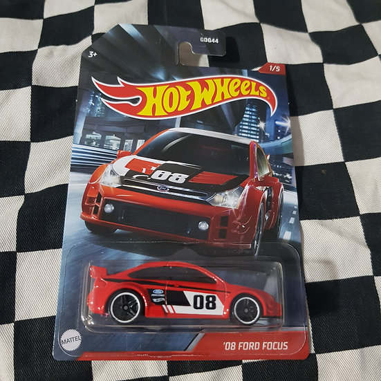 Hot Wheels 2020 Themed 08 Ford Focus Red