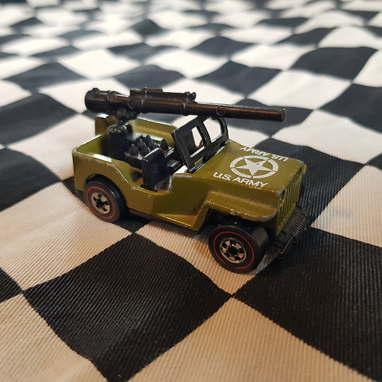 Vintage Loose Hot Wheels Redline Gun Slinger Jeep