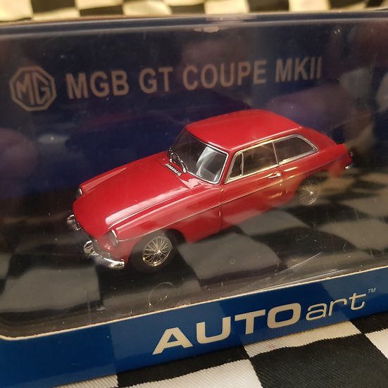 AutoArt 1:43 MGB GT Coupe MKII 1969 Red