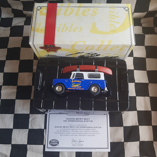 Matchbox Collectables 1:43 Trout 1961 International Scout 80 Premium Grade Model