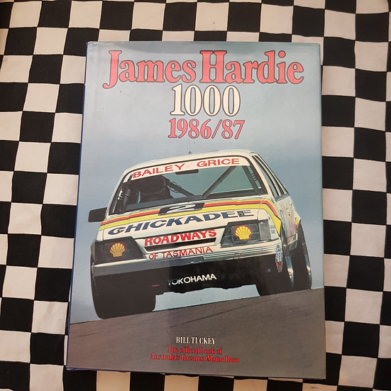 James Hardie 1000 1986/87 Bill Tuckey Bathurst Book