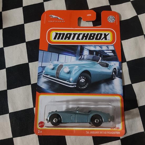 Matchbox 56 Jaguar XK140 Roadster Blue
