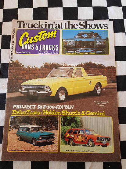 CUSTOM VANS & TRUCKS magazine #25