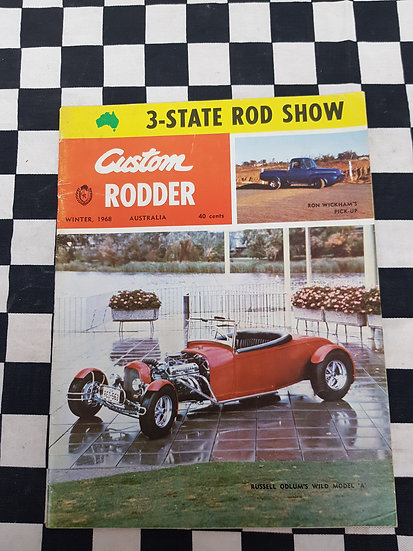 Custom Rodder magazine #5 winter 1968