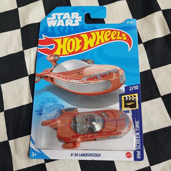 Hot Wheels 2021 Screen Time Star Wars X-34 Landspeeder