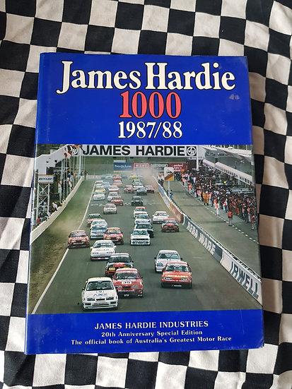 James Hardie 1000 1987/88 Bill Tuckey Bathurst Book 20TH Anniversary Edition