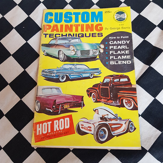 1962 Custom Painting Techniques by George Barris