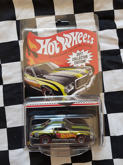 2017 Hot Wheels mail in COLLECTOR EDITION 76 Ford gran torino