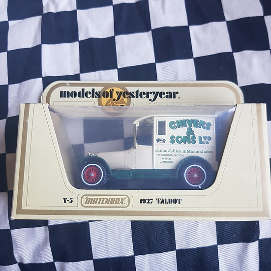 Matchbox Models of Yesteryear Y5 1927 Talbot Chivers & Sons Ltd