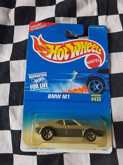 Hot Wheels 1995 BMW M1 Silver