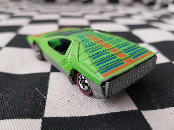 Hot Wheels Redline Carabo Light Green