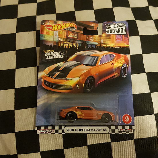 Hot Wheels 2020 Boulevard Garage legends 2018 Copo Camaro SS Orange