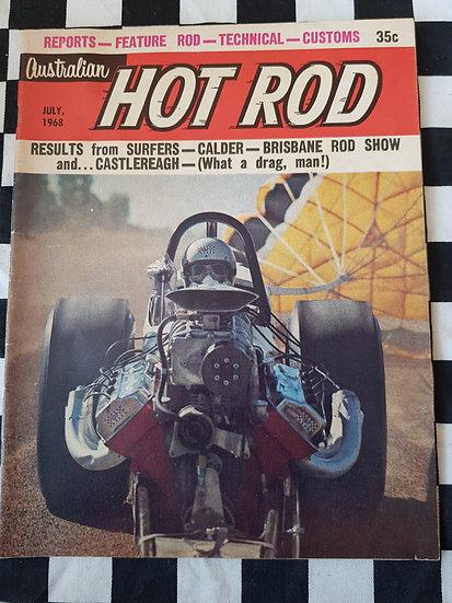 AUSTRALIAN HOT ROD july 1968
