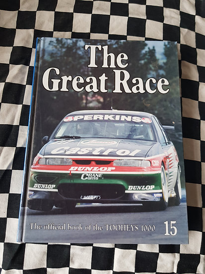 The Great Race #15 1995 Bathurst Book
