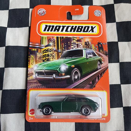 Matchbox 2021 1971 MGB GT Coupe Green