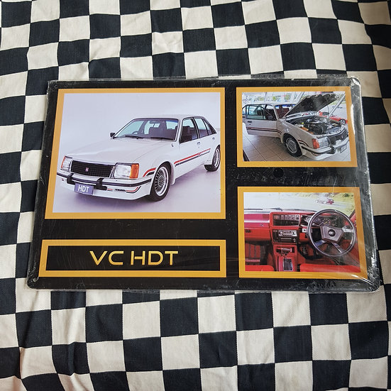 Tin Sign Repro 20x30 Holden Commodore VC HDT