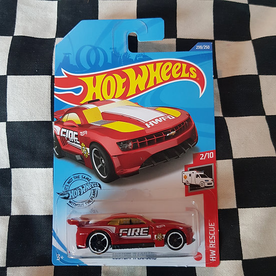 Hot Wheels 2020 Rescue Fire Custom 11 Camaro Red