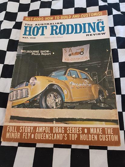 Australian Hot Rodding Review magazine May 1968