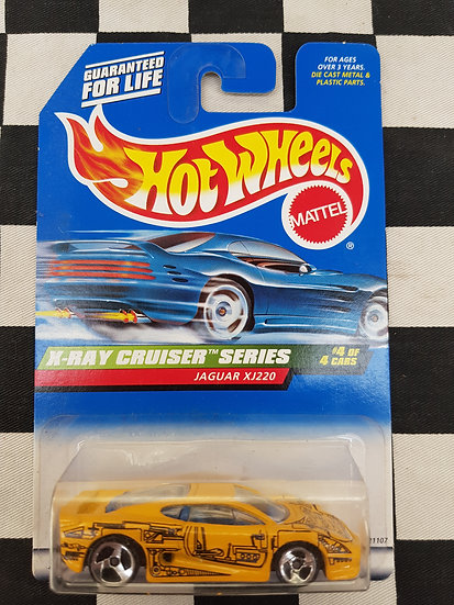 Hot Wheels 1998 X-Ray Cruiser Jaguar XJ220