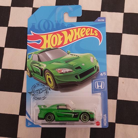 Hot Wheels 2020 Honda Series Honda S2000 Green