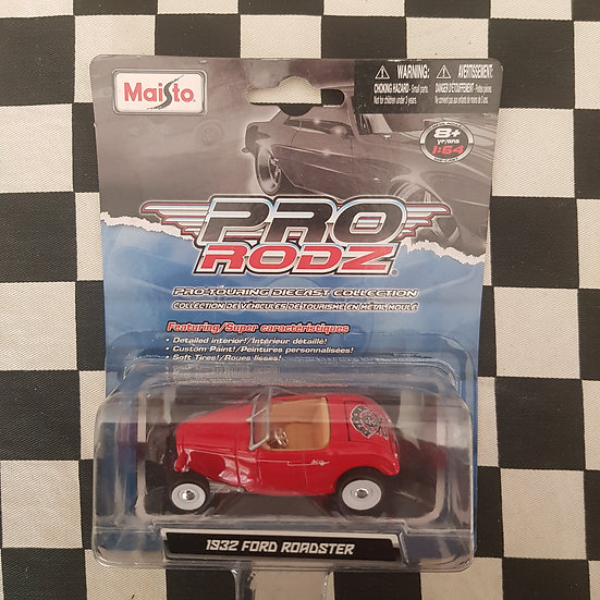 Maisto Pro Rodz 1932 Ford Roadster Red