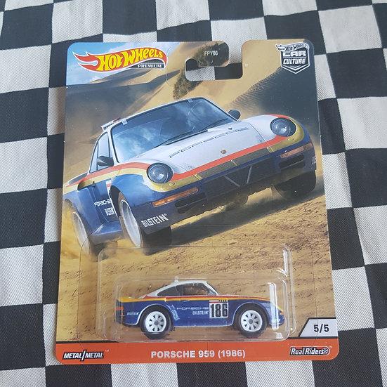 Hot Wheels Premium Wild Terrain  Porsche 959 1986