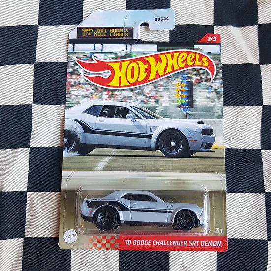 Hot Wheels 1/4 Mile Finals 18 Dodge Challenger SRT Demon